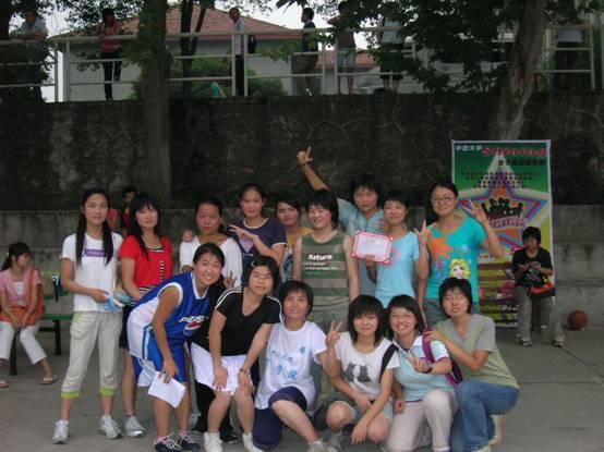 校园三人制女子篮球赛